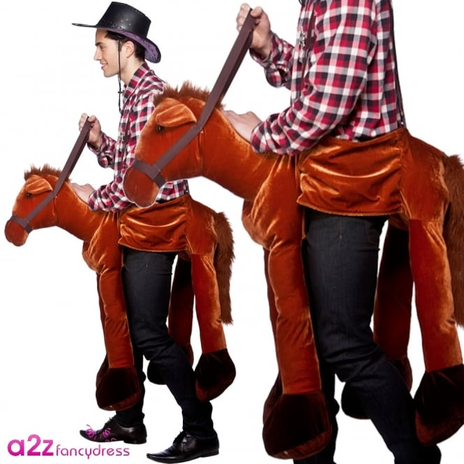 Ride On Horse - Adult Costume
