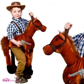 Ride On Horse - Kids Costume