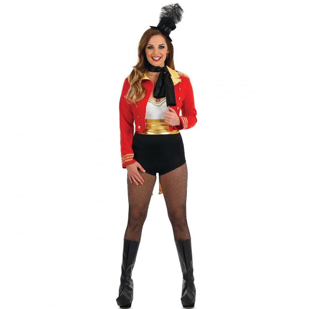 Ringmaster , Adult Ladies Costume