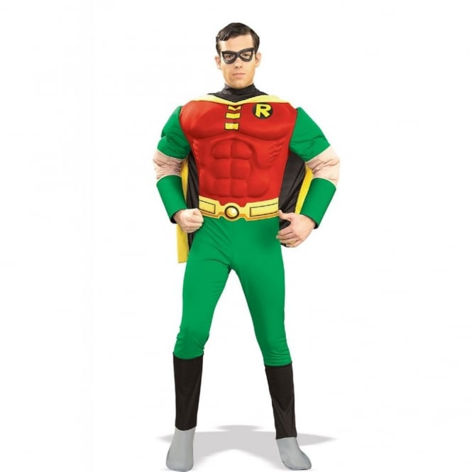 BATMAN ~ Robin (Muscle Chest) - Adult Costume