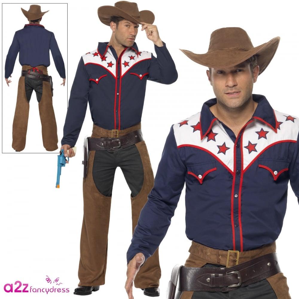 716787b9f44 Rodeo Cowboy - Adult Costume