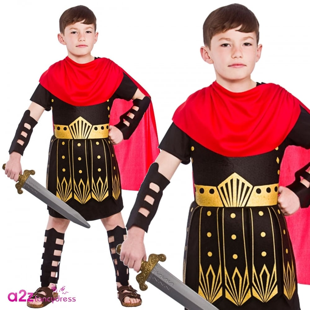 New Roman Soldier 134-146cm Boys Childrens Costume