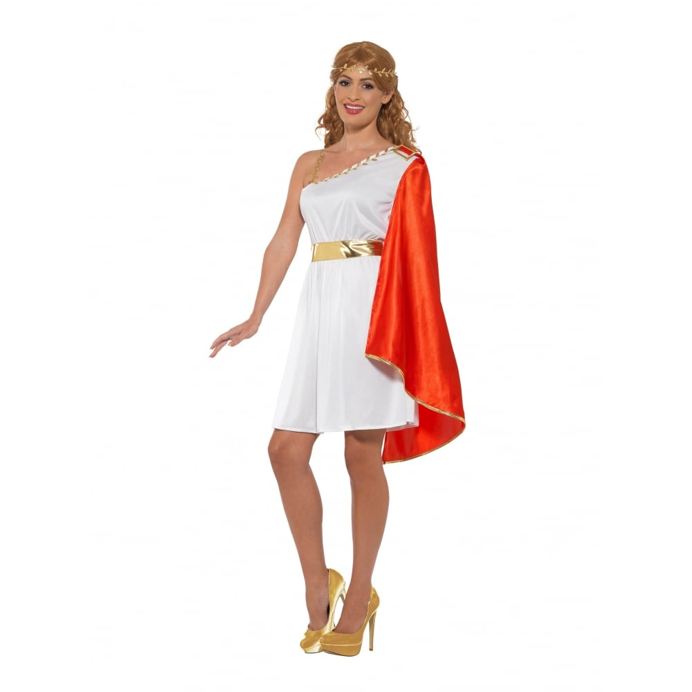 Roman Lady - Adult Costume  sc 1 st  a2z Fancy Dress & Roman Lady - Adult Costume - Adult Costumes from A2Z Fancy Dress UK
