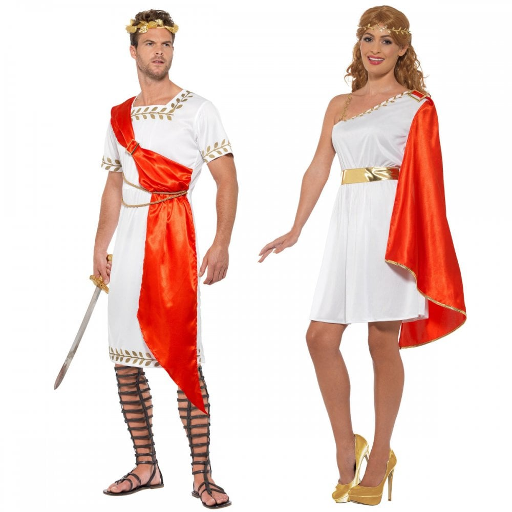 ee0e3ad1db39 Roman Senator + Lady - Couples Costumes - Couples Costumes from A2Z Fancy  Dress UK