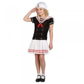 Sailor Girl - Kids Costume