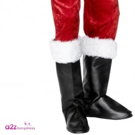 Santa Boot Covers - Adult Accessory