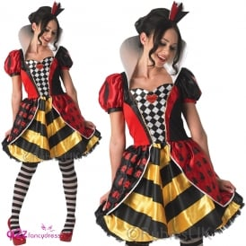 ~ Sassy Queen Of Hearts - Adult Costume