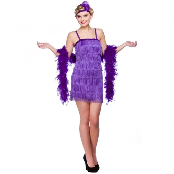 Showtime Flapper (Purple) - Adult Costume