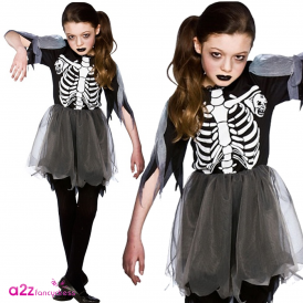 Skeleton Ballerina - Kids Costume