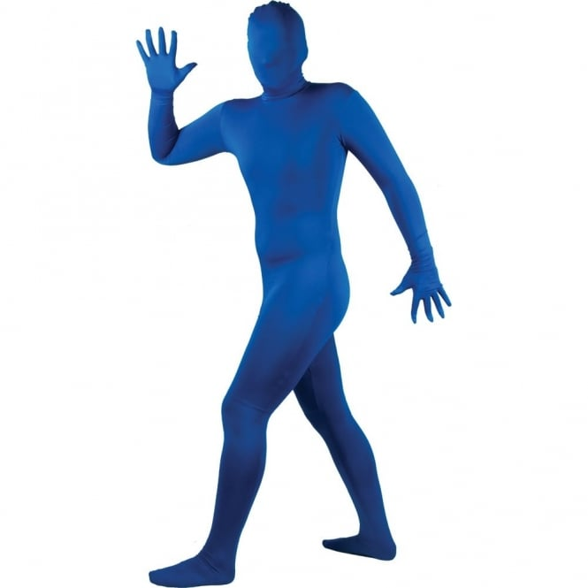 Skinz Blue - Adult Costume