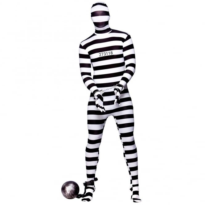 Skinz Convict - Adult Costume