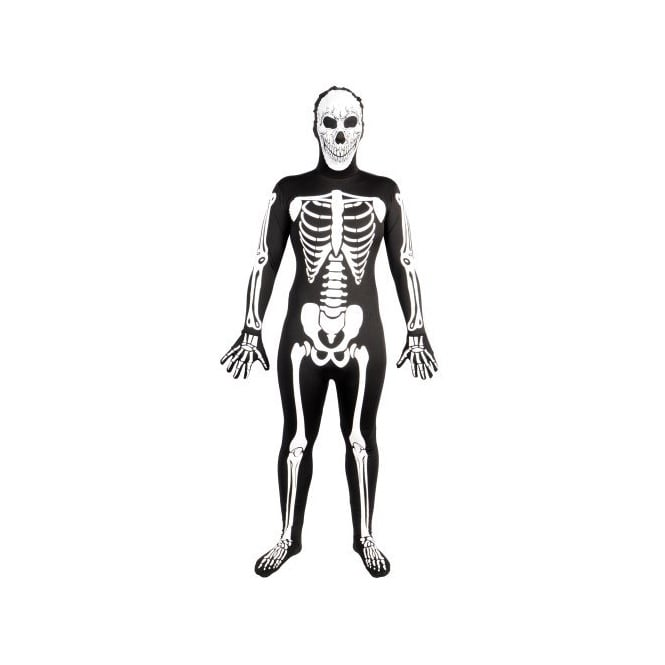 Skinz G.I.D Skeleton - Adult Costume
