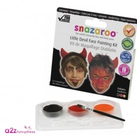 Snazaroo Devil Face Painting Kit - Kids Accessory