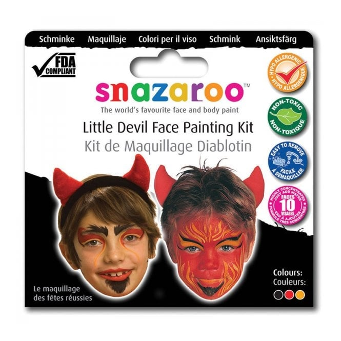 Buy This Snazaroo Devil Face Painting Kit Ideal Halloween Accessory