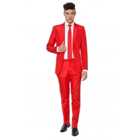 Solid Red - Adult Suitmeister