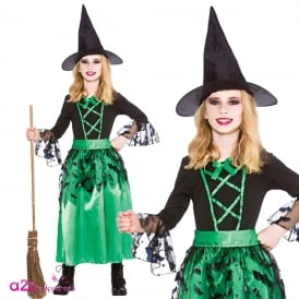 Spellcaster Witch - Kids Costume