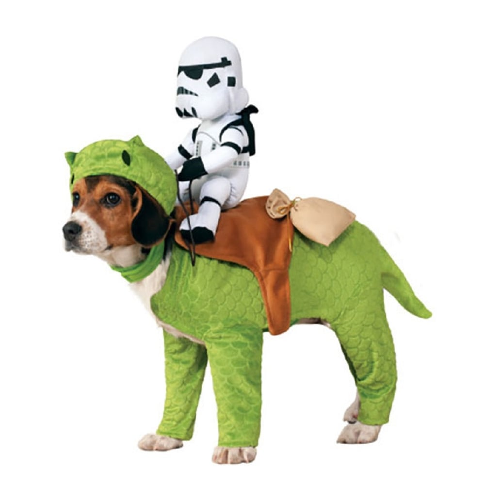Dewback With Sandtrooper Dog Costume - Pet Accessory  sc 1 st  a2z Fancy Dress & STAR WARS Dewback With Sandtrooper Dog Costume - Pet Accessory - Pet ...