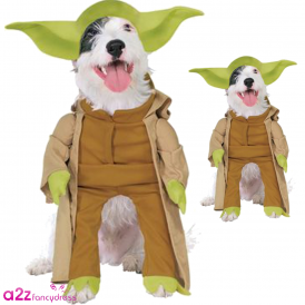 Star Wars Yoda Dog Costume - Pet Accessory