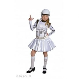 ~ Stormtrooper (Girl) - Kids Costume