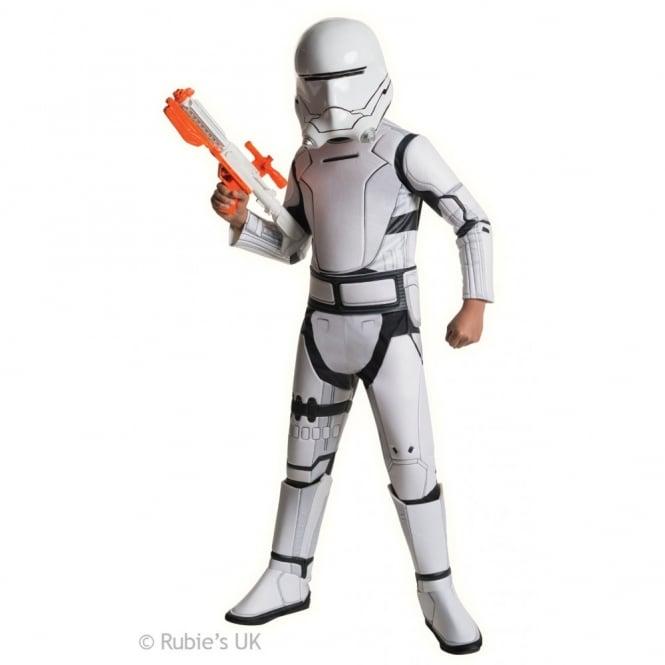 Storm Trooper White Star Wars Force Awakens Mens Deluxe Fancy Dress Costume
