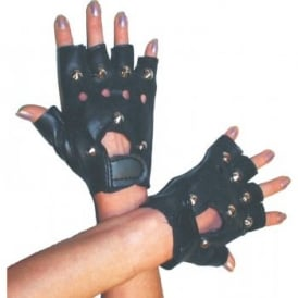 Studded Gloves - Adult Accessory