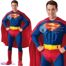~ Superman (Muscle Chest) - Adult Costume