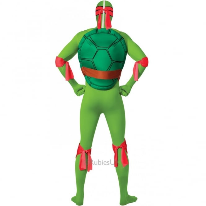 Teenage Mutant Ninja Turtle Raphael RED 2nd Skin - Adult Costume  sc 1 st  a2z Fancy Dress & Teenage Mutant Ninja Turtle Raphael - Adult 2nd Skin Costume