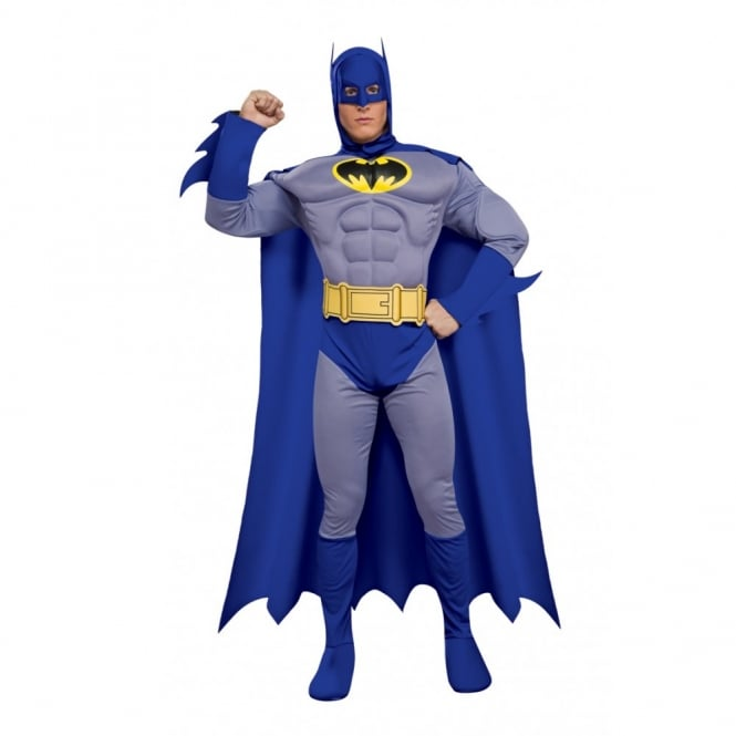 BATMAN ~ The Brave & The Bold (Muscle Chest) - Adult Costume