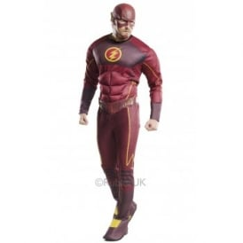 ~ The Flash Fastest Man Alive Deluxe - Adult Costume