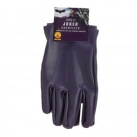 ~ The Joker Gloves - Adult Accessory
