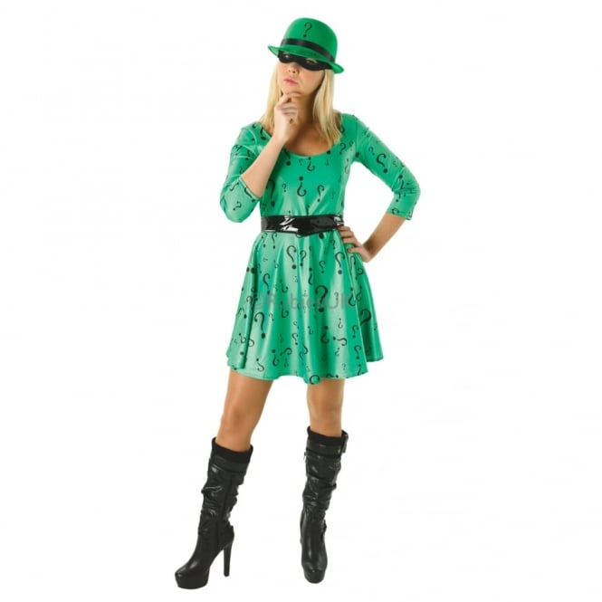 DC COMICS ~ The Riddler (DC Classic) - Adult Costume