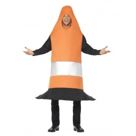 Traffic Cone - Adult Costume