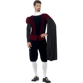Tudor Lord Deluxe - Adult Costume