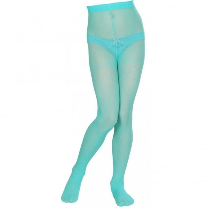 557a39e75e91f Turquoise Tights - Kids Accessory - Accessories from A2Z Fancy Dress UK