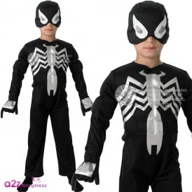 ~ Ultimate Black Spider-Man - Kids Costume