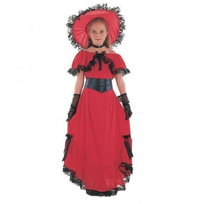 Victorian Girl Scarlet (Red) - Kids Costume  sc 1 st  a2z Fancy Dress & Buy Scarlet Victorian Girl Costume
