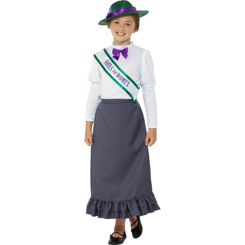 Victorian Suffragette - Kids Costume  sc 1 st  a2z Fancy Dress & Victorian Suffragette - Kids Costume - Kids Costumes from A2Z Fancy ...