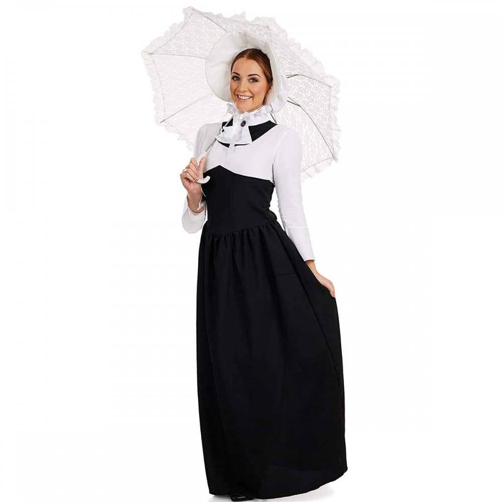 35c30843781 Victorian Woman - Adult Costume - Adult Costumes from A2Z Fancy Dress UK
