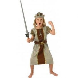 Viking Boy (Brown) - Kids Costume