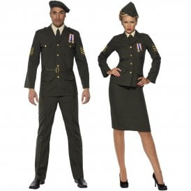 Wartime Officer - Couples Costume