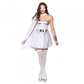 White Hot Super Hero - Adult Costume