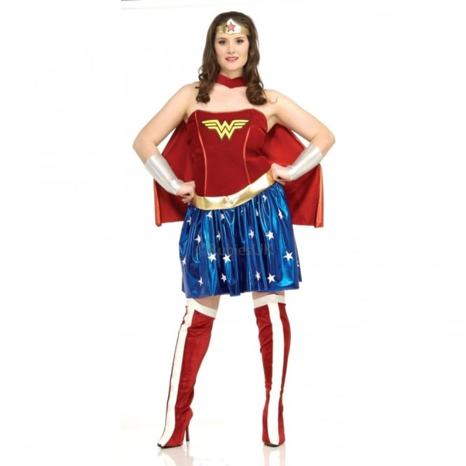 Wonder Woman Wonder Woman Plus Size Adult Costume Adult