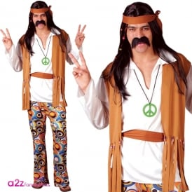 Woodstock Hippie - Adult Costume