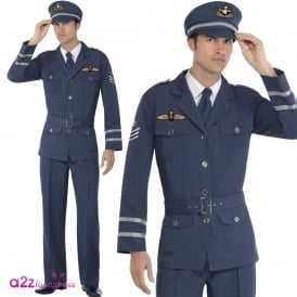 WW2 Air Force Captain - Adult Costume