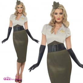 WW2 Army Pin Up Spice Darling - Adult Costume