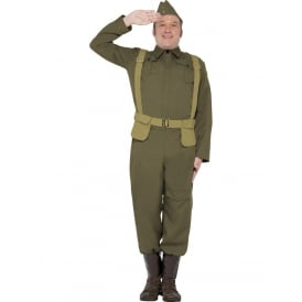 WW2 Home Guard Private - Adult Costume