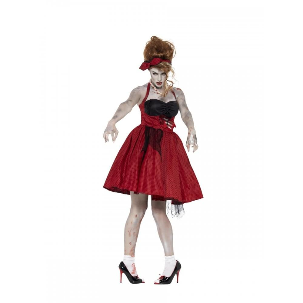 0454475c5ab47 Zombie 50s Rockabilly - Adult Costume - Adult Costumes from A2Z Fancy Dress  UK