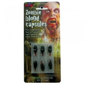 Zombie Blood Capsules - Adult Accessory