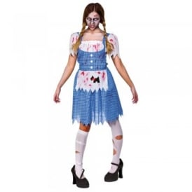 Zombie Country Girl - Adult Costume