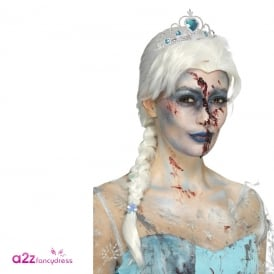 Zombie Froze to Death Wig - Adult Accessory